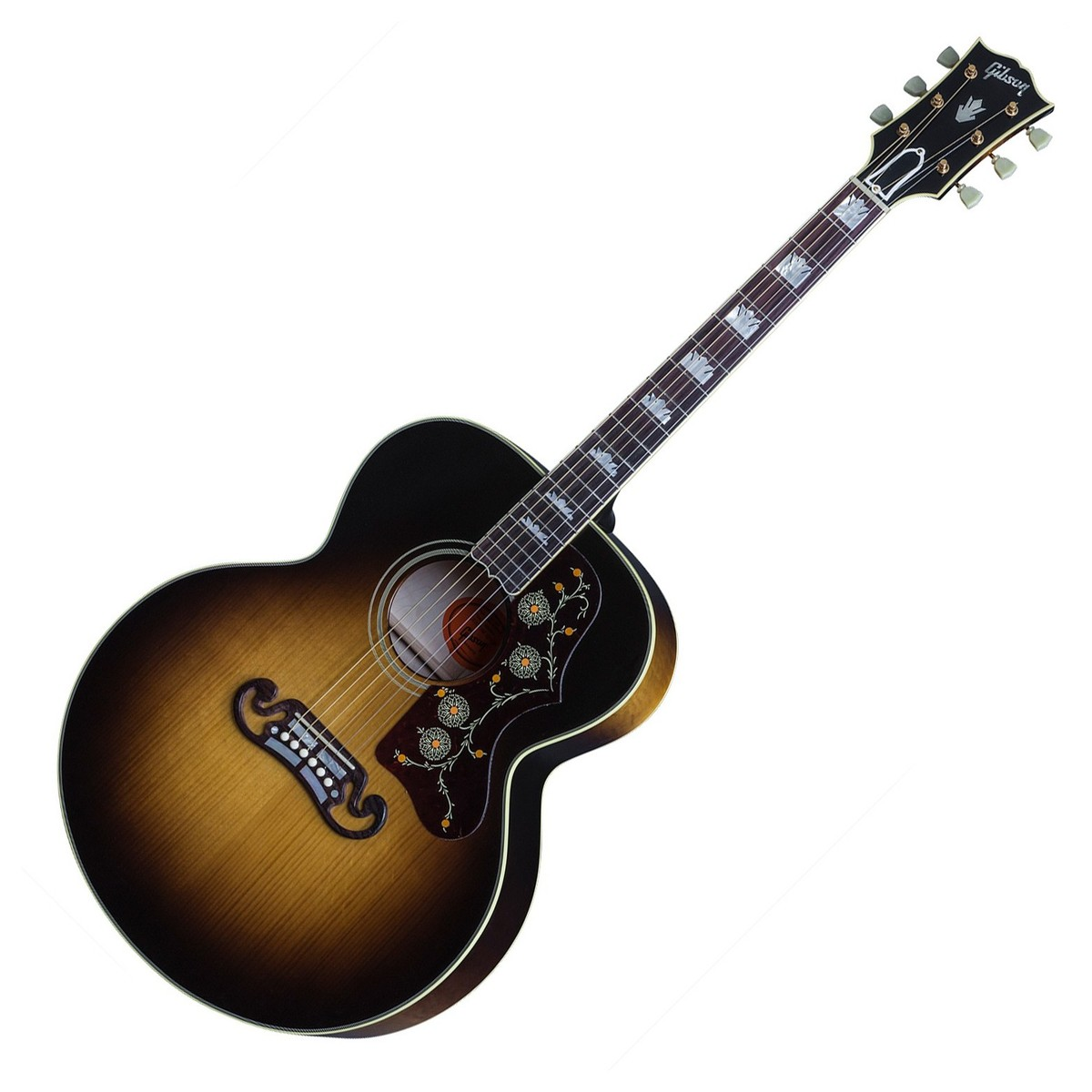 gibson sj 200 vintage acoustic guitar at. Black Bedroom Furniture Sets. Home Design Ideas