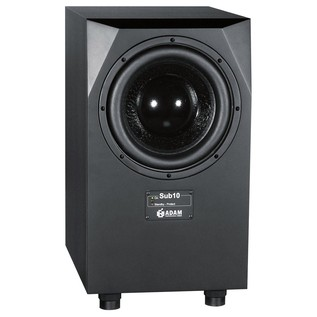 Adam SUB10 MKII Active Subwoofer - Angled Front