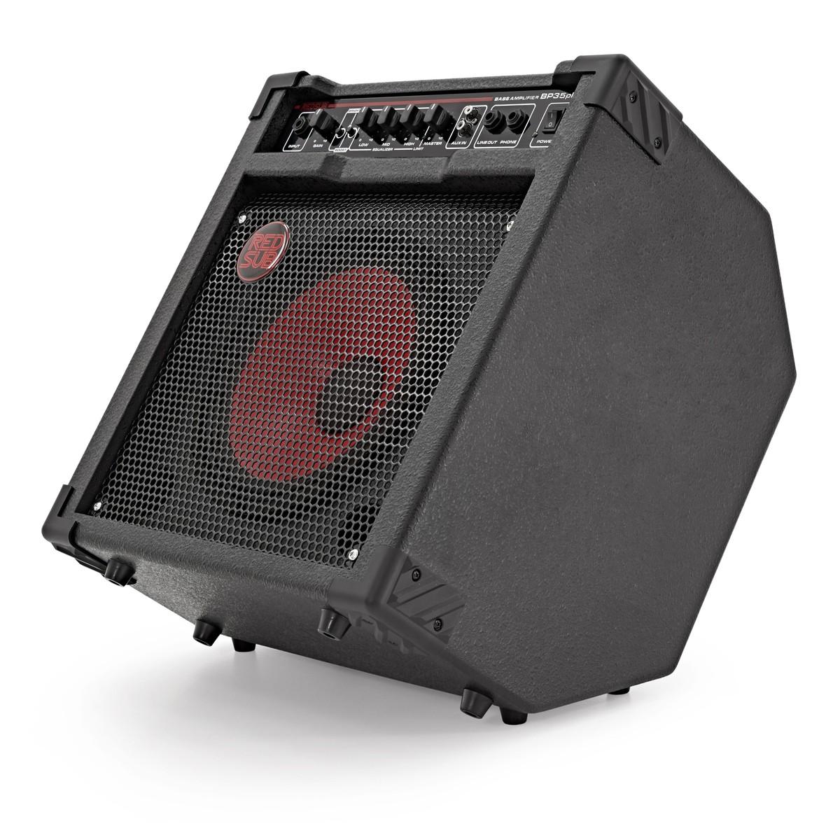 redsub bp35plus 35w bass guitar amplifier at. Black Bedroom Furniture Sets. Home Design Ideas