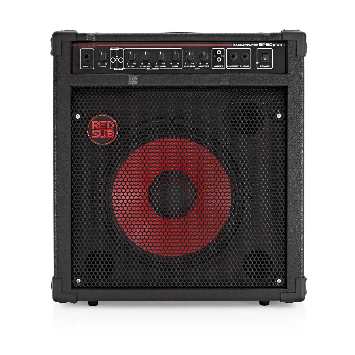 Amp For Guitar And Bass : redsub bp80plus 80w bass guitar amplifier at ~ Hamham.info Haus und Dekorationen