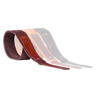 Gruv Gear SoloStrap Premium Leather Guitar Strap, Chocolate