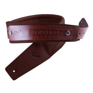 Gruv Gear SoloStrap Premium Leather Guitar Strap, Chocolate