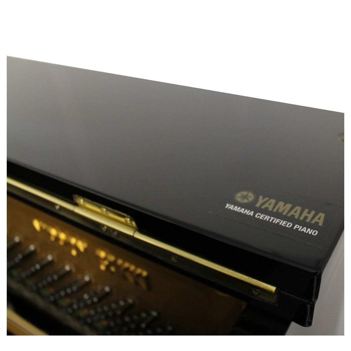 Yamaha u1 upright piano polished ebony at for Yamaha u1 silent piano review
