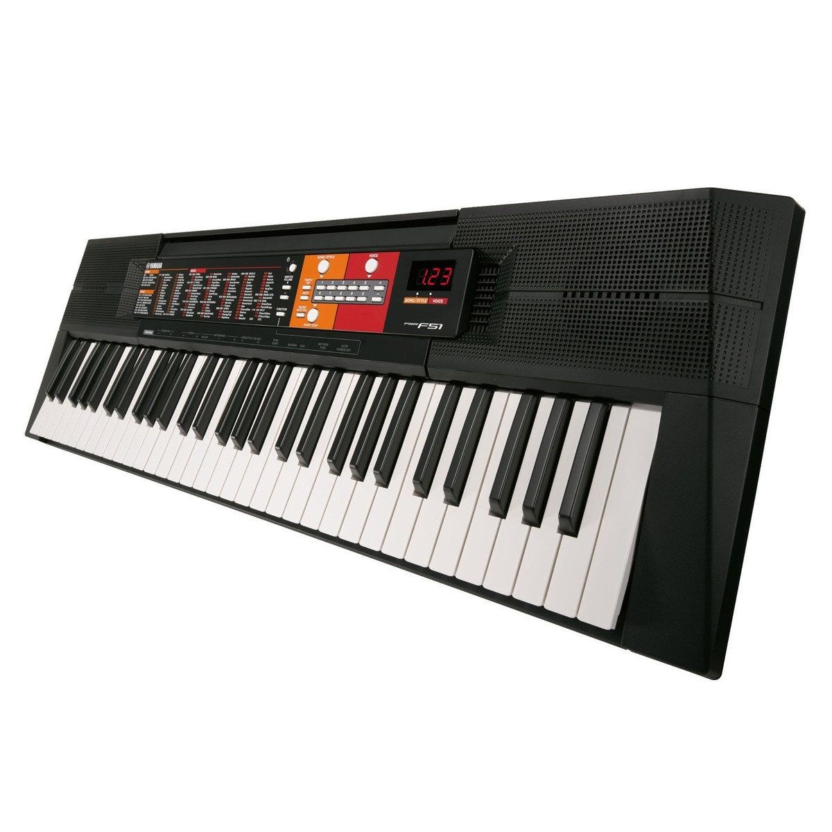 yamaha psr f51 portable keyboard at