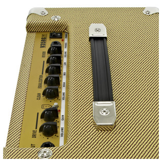 Knoxville Semi-Hollow Guitar and SubZero V35RG Amp Pack, Sunburst