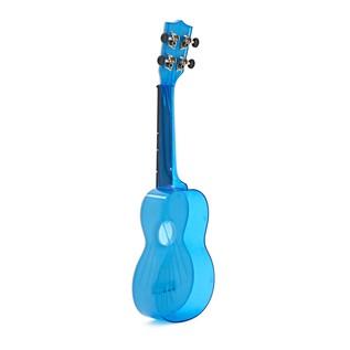 Makala Waterman MK-SWT/BL Soprano Ukulele, Clear Blue