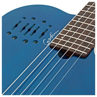 Godin Multiac Encore Trans Blue LTD with Bag