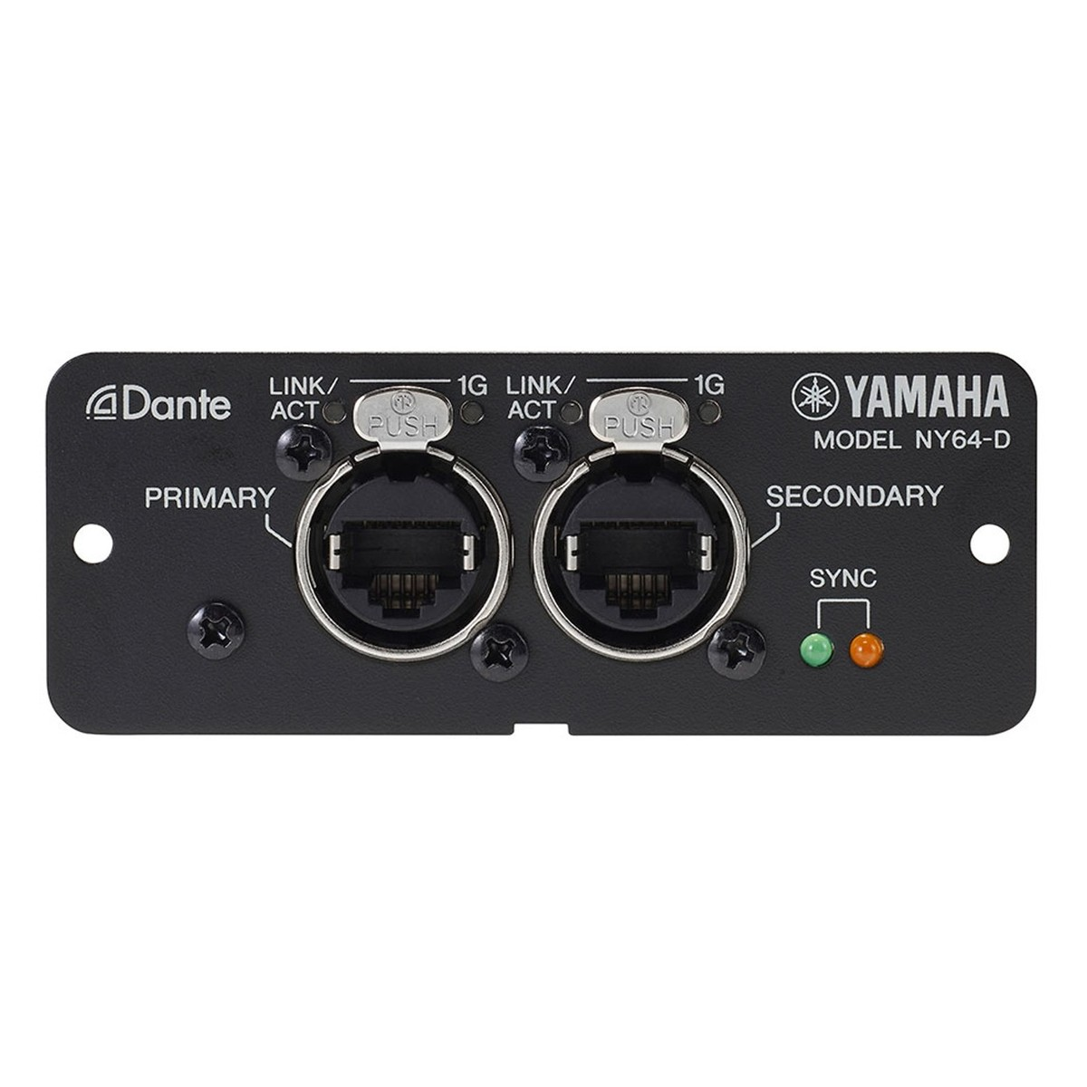 yamaha ny64 dante expansion card for tf series mixers at