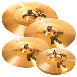 Zildjian K Custom Hybrid Cymbal Box Set with Free 18'' Crash