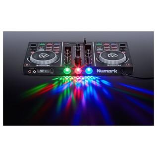 Numark PartyMix 2-Channel DJ Controller - Rear