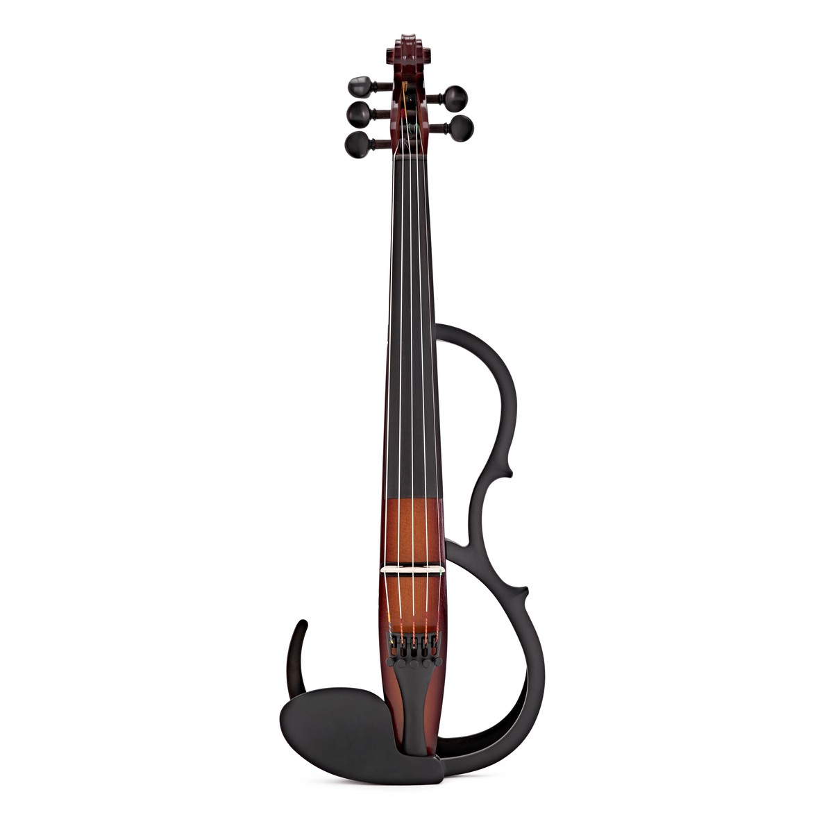 Yamaha sv255 stille violine brown auf for Yamaha svc 110sk silent electric cello brown