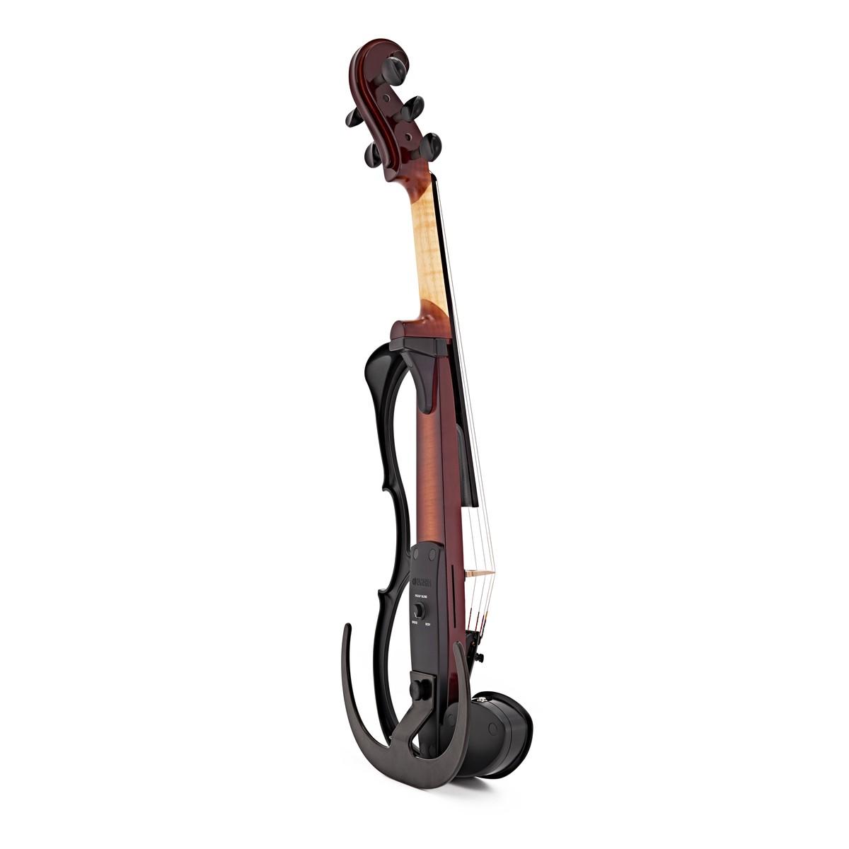 Yamaha sv255 silent violin brown at for Violin yamaha 4 4