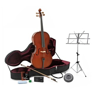Student Plus 3/4 Cello Pack