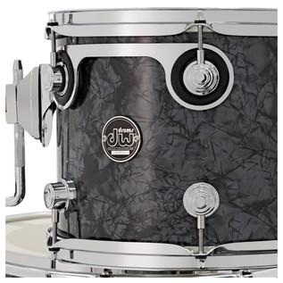 DW Drums Performance Series, 22 4 Piece Shell Pack, Black Diamond