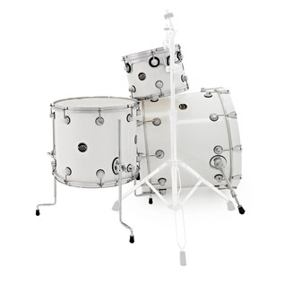 DW Drums Performance Series, 22 4 Piece Shell Pack, White Ice