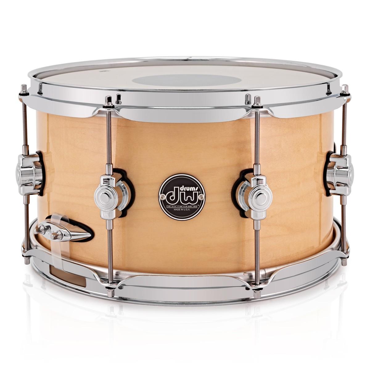 dw drums performance series 13 x 7 snare drum natural at. Black Bedroom Furniture Sets. Home Design Ideas