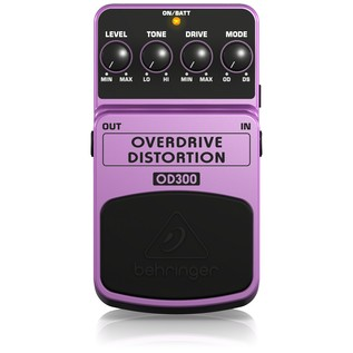 Behringer OD300 Overdrive/Distortion Effects Pedal