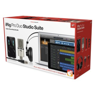 IK Multimedia iRig Pro Studio Suite - Boxed