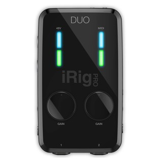 IK Multimedia iRig Pro Studio Suite Deluxe - iRig Pro Duo Top View