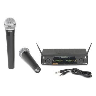 Samson Concert 277 Q7 Dual Channel Handheld Wireless System - E12