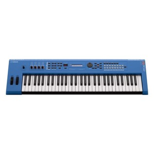 Yamaha MX61 II with Stand and Headphones, Blue - Front