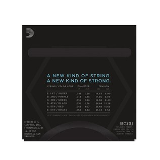 D'Addario NYXL 6-String Nickel Wound Electric Strings, 11-52