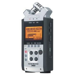 Zoom H4n Handheld Digital Recorder - Front