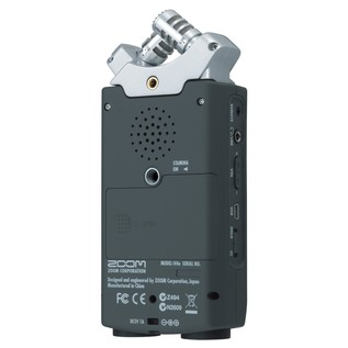 Zoom H4n Handheld Digital Recorder - Rear