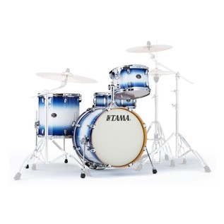 Tama Silverstar Custom 18'' 4 Piece Shell Pack, Jet Blue Burst