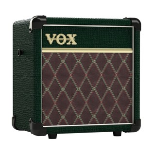 Vox MINI5 Rhythm Compact Modelling Guitar Amp, British Racing Green