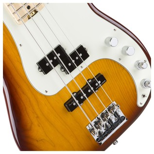 Fender American Elite P-Bass Guitar, Tobacco Sunburst