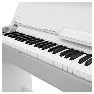 DP-7 Compact Digital Piano by Gear4music, White