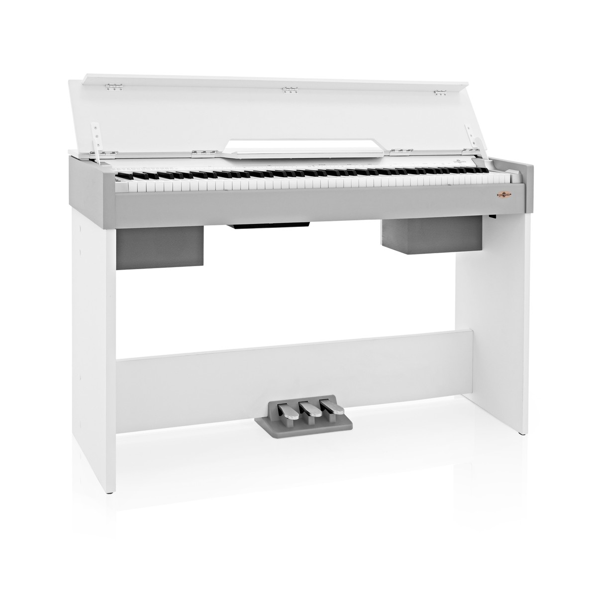Image of DP-7 Compact Digital Piano by Gear4music White