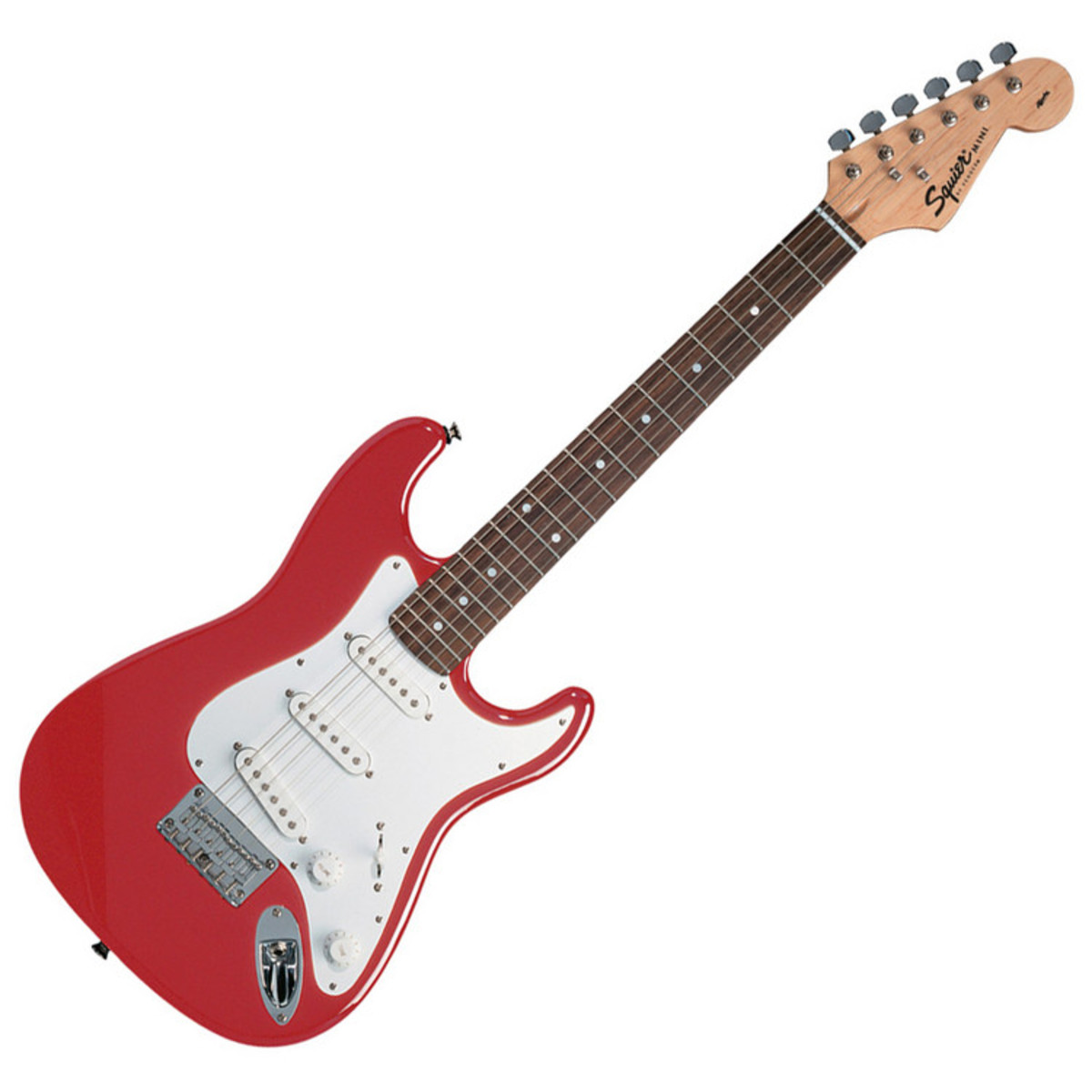 squier by fender guitare stratocaster mini 3 4 taille. Black Bedroom Furniture Sets. Home Design Ideas