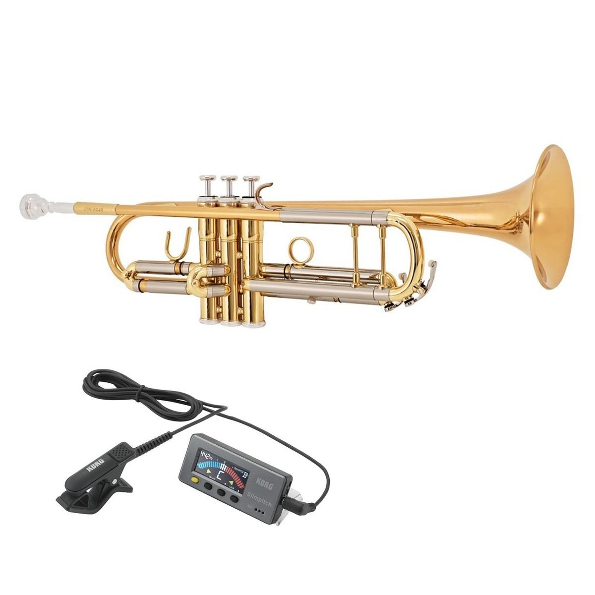 Image of Jupiter JTR-1104RL Trumpet with Free Slimpitch Tuner