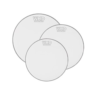 WHD Practice Mesh Drumhead - Fusion Tom Pack