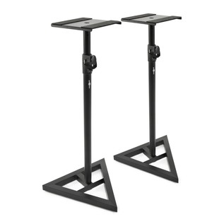 KRK Rokit RP5 G3 Active Monitor, Pair (White Noise) - Speaker Stands