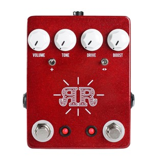 JHS Pedals Ruby Red Overdrive, Distortion and Fuzz Guitar Pedal