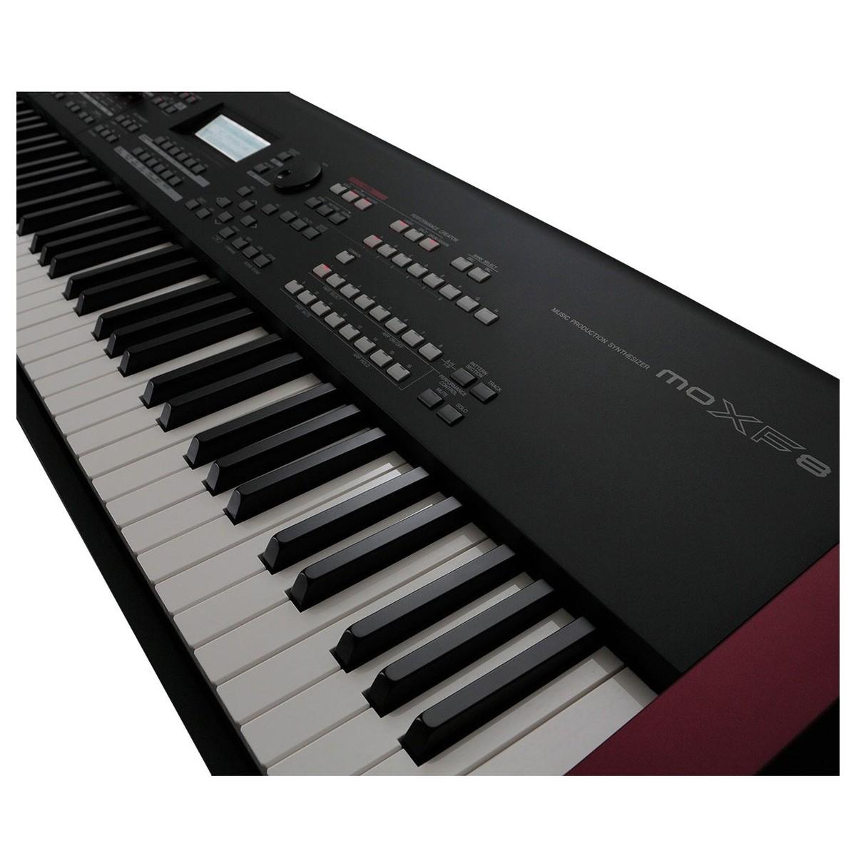Yamaha moxf8 synthesizer keyboard at for Yamaha keyboard synthesizer