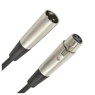 XLR (F) - XLR (M) Microphone Cable, 3m