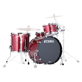 Tama Starclassic Performer B/B 3Pc Shell Pack, Coral Red Sparkle