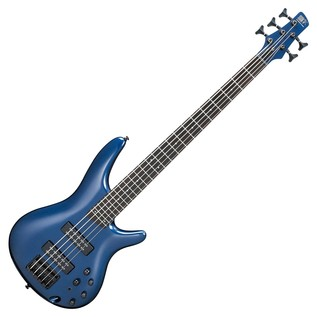 Ibanez SR305EB Bass Guitar, Navy Metallic