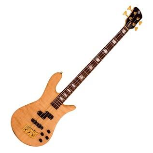Spector Bass Euro 4LX Classic Bass Guitar, Natural, Aguilar Pickups