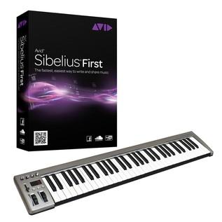 Sibelius First with 61 Key MIDI Keyboard