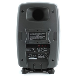 Genelec 8050B Bi-Amped Studio Monitor, Dark Grey (Single) - Rear