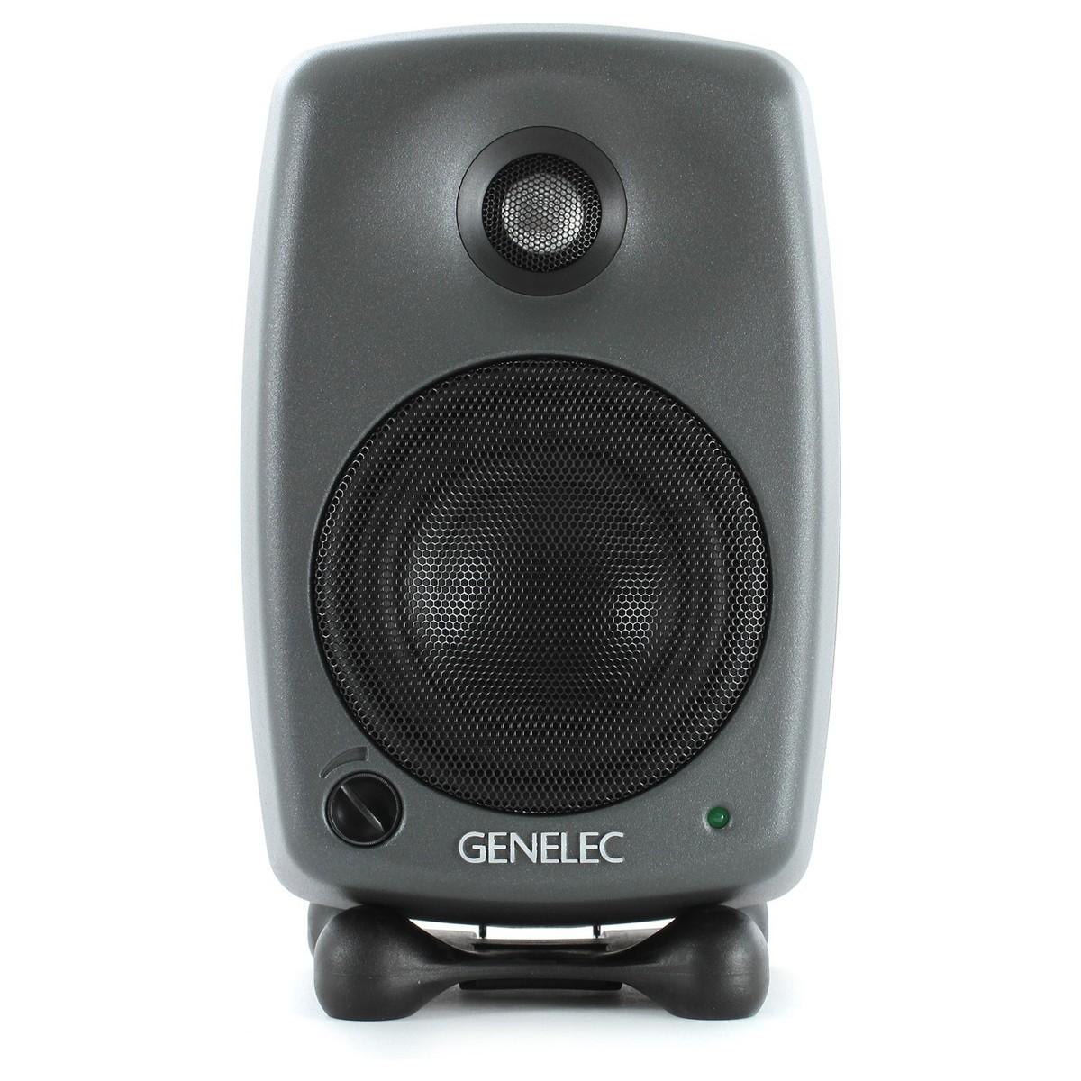 Image of Genelec 8020C Bi-Amplified Studio Monitor Dark Grey (Single)