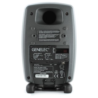 Genelec 8020C Bi-Amplified Studio Monitor, Dark Grey (Single) - Rearc