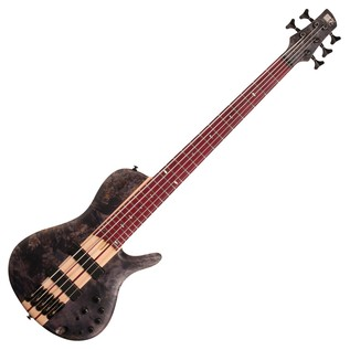 Ibanez SRSC805 Bass Guitar, Deep Twilight Flat