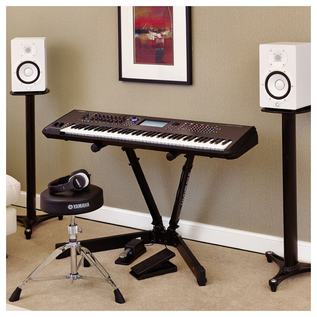 yamaha montage 7 synthesizer at. Black Bedroom Furniture Sets. Home Design Ideas
