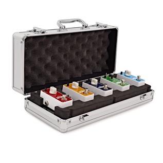 SubZero Micro Guitar Pedal Rock Pack and Pedal Board